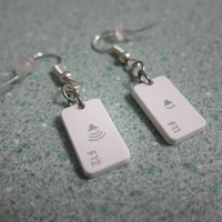 Volume Key Earrings