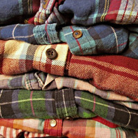 Vintage Mystery Flannel Shirts All Styles & Sizes