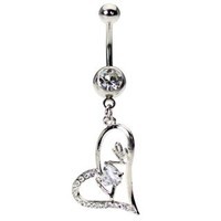Love Belly Button Ring