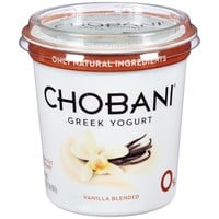 Walmart: Chobani Vanilla Blended Non-Fat Greek Yogurt, 32 oz