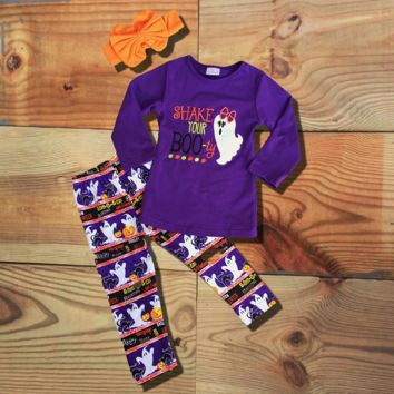 Shake Your Boo-ty Ghost Halloween Outfit