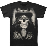 Slash Men's  Slash Skull T-shirt Black Rockabilia