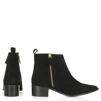 ALMIGHTY Suede Ankle Boots - Topshop