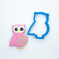 Chubby Owl Cookie Cutter
