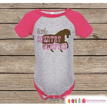 Novelty Girl s Outfit - Cowgirl Little Country Bumpkin Pink Ragl d4998a372