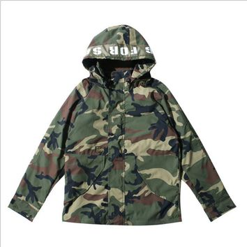 Camouflage West sweat homme hoodies men Sweatshirt Hoodies Hip Hop Streetwear Hoody pablo hoodieS