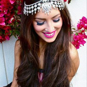 Indian 3-way Silver Headpiece from LullaBellz