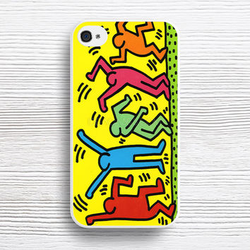 Keith Haring Pop Art case iPhone 4s 5s 5c 6s 6 Plus Cases, Samsung Case, iPod 4 5 6 case, HTC case, Sony Xperia case, LG case, Nexus case, iPad case