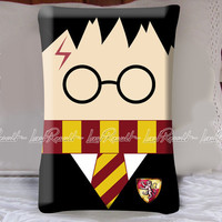 Harry Potter Pattern on Decorative Pillow Covers
