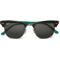 Ray-Ban Clubmaster Two-Tone Sunglasses | MR PORTER