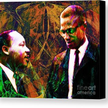 Malcolm And The King 20140205 Canvas Print