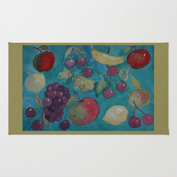 Retro Kitchen Rug by CSteenArt