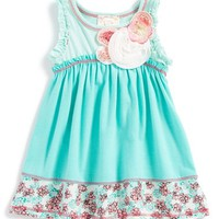 Infant Girl's Pink Vanilla Embellished Tank Dress,