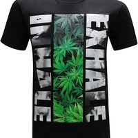 Inhale Exhale 420 Men's T-Shirt
