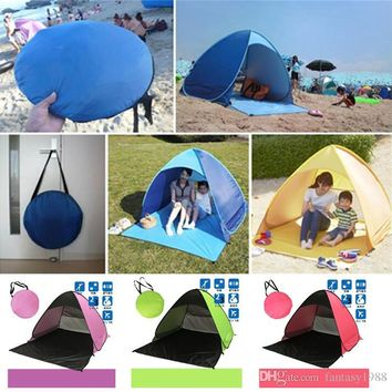 Automatic Opening Hiking Beach Tent