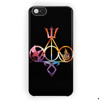 All Logo Mortal Instruments Hunger Games Divergent Percy Jackson Harry Potter For iPhone 5 / 5S / 5C Case