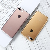 Full Protective Silicone Case for Apple iPhone 7 7 Plus 360 Phone Accessories Cover for Apple iPhone 6 6s Plus Case Coque