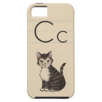 C is for cat from Zazzle.com