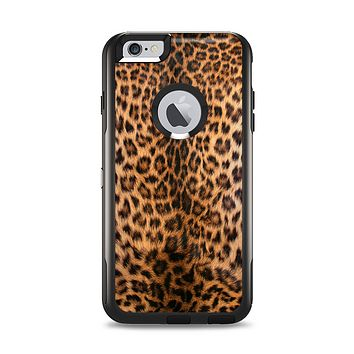 The Mirrored Leopard Hide Apple iPhone 6 Plus Otterbox Commuter Case Skin Set
