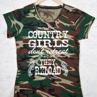Women's Country Girl™™ Reload Camo Short Sleeve Tee