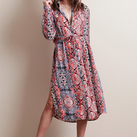 Majestic Carpet Shirt Dress By MINKPINK