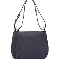 ALLSAINTS Mini Echo Calfskin Suede & Leather Hobo | Nordstrom