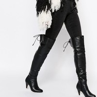 Truffle Collection Nud Mid Over The Knee Boots