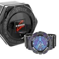 G-Shock Watch GAX100B-1A Purple Simulated Diamonds Men Womens