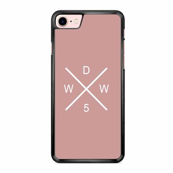 Why Dont We Merch Logo Pink iPhone 7 Case