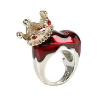 Disney Alice In Wonderland Red Queen Ring