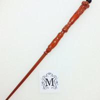 Wicca Pagan Light Brown Wand