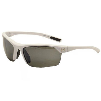 Under Armour Zone 2.0 Sunglasses Satin White/Gray