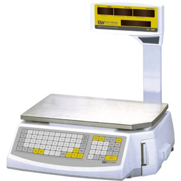 Commercial 60 Lb. Price Computing & Printing Scale Pole Display Easy Weigh