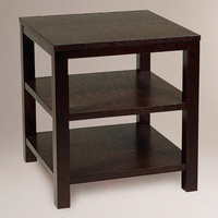 Square Porter End Table