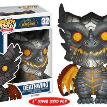 "Funko Pop Games: World of Warcraft - Deathwing 6"" Vinyl Figure"