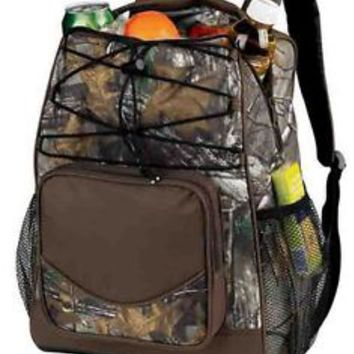 Insulated Lunch bag Cooler backpack designed cooler Real Tree APX camo 20 can