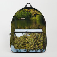 Waterside Reflections pt.2 Backpack by audrey_ross
