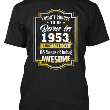 Born In 1953 65 Years Of Being Awesome