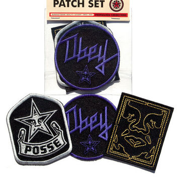 OBEY Posse Patch Set :: OBEY GIANT STORE