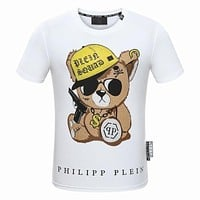 2018 Men Cheap Philipp Plein T Shirt hot sale ♂028