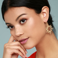 Always Enchanted Gold Earrings