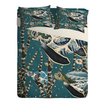 Belle13 Sea Turtle Migration Sheet Set Lightweight