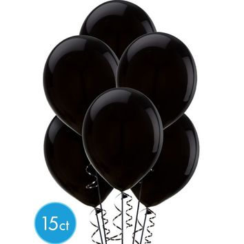 Black Balloons 15ct