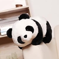 1PC 25cm Height Baby Kids Children Party Gifts Cartoon Aniamls Panda Plush Stuffed Toys For Boys Girls Cute Dolls 2018