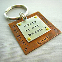 Where it all Began Latitude and Longitude by CandidGrace on Etsy