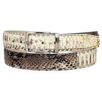 Paul Parkman Men's Natural Genuine Python (snakeskin) Belt