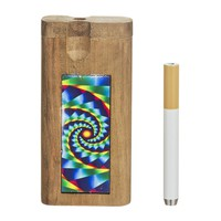 Doug's Dugout with Full Color Inlay - Fractal Vortex