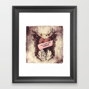 Enigma Framed Art Print by Jessica Ivy