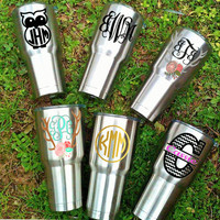 Custom Yeti Decal, Corksicle Decal, RTIC Decal, SIC Cup Decal, RealTree Decal