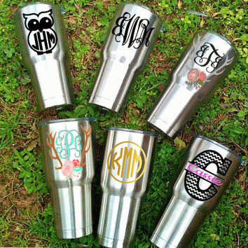 Custom yeti decal corksicle decal rtic decal sic cup decal realtree decal